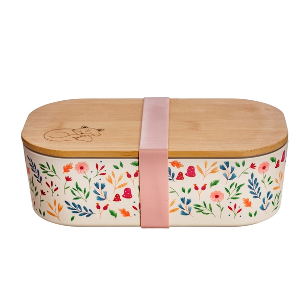 Sass & Belle Forest Folk Bamboo Lunch Box