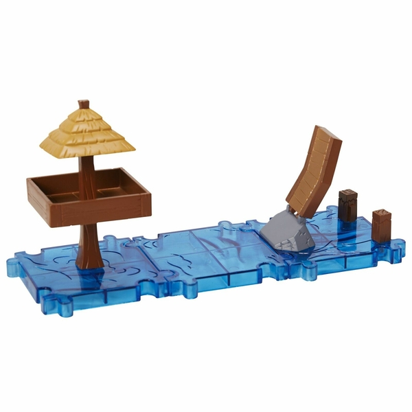 Windwaker Tetra & Open Ocean (The Legend Of Zelda) Microland Action Figure