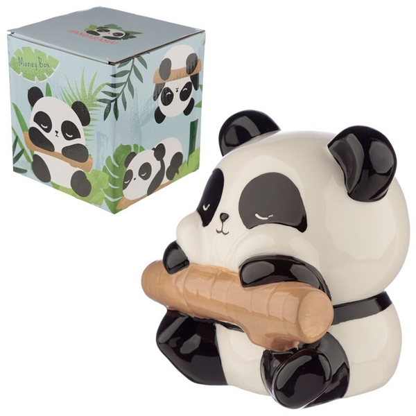 Ceramic Panda Money Box