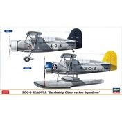SOC-3 Seagull 'Battleship Observation Squadron' - Twin Kit Combo 1:72 Model Kit