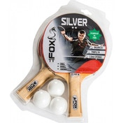Fox TT Silver 2 Player Table Tennis Set