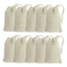 Natural Sisal Soap Bags - Set of 10 | M&W - Image 3