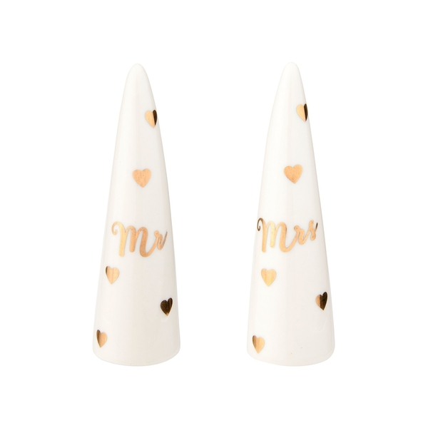 Sass & Belle Mr & Mrs Ring Cones