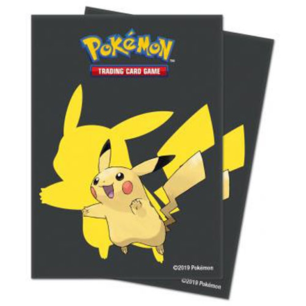 Ultra Pro Pokemon Pikachu 2019 Deck Protector Sleeves (10 Packs)
