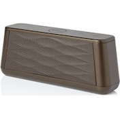 Groov-e Soundwave Bluetooth Speaker with Mic Chocolate Brown