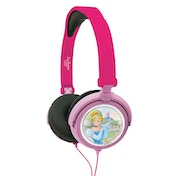 Lexibook HP010DP Disney Princess Foldable Stereo Headphones with Volume Limiter