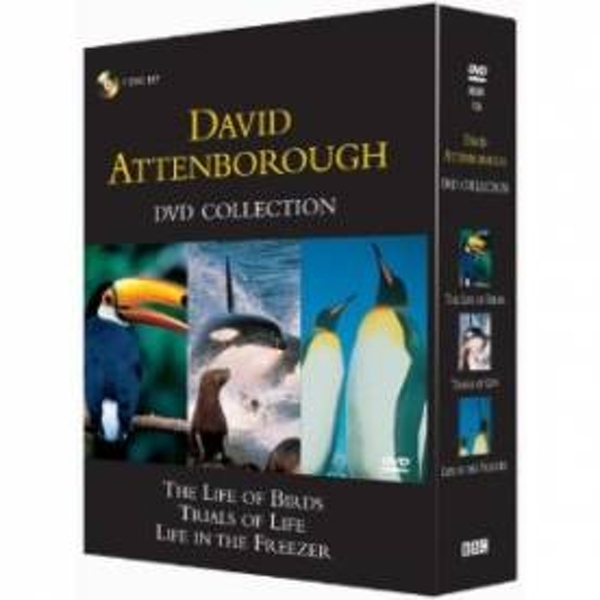 David Attenborough Collection -- Trials of Life, Life in the Freezer, Life of Birds [DVD]