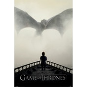 Game Of Thrones - A Lion & A Dragon Maxi Poster