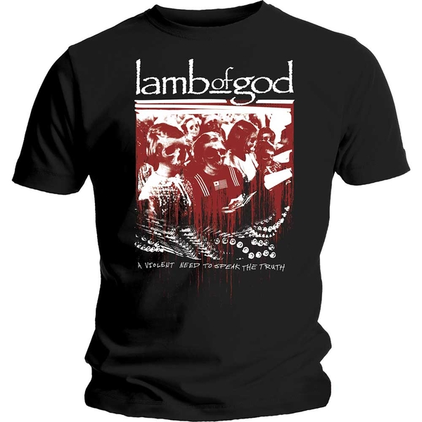 Lamb Of God - Enough is Enough Unisex Small T-Shirt - Black