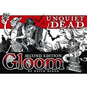 Gloom Card Game Unquiet Dead 2nd Edition Expansion