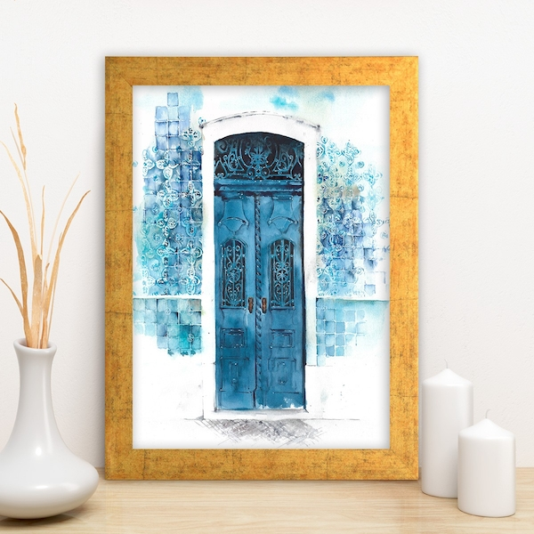 AC1064859347 Multicolor Decorative Framed MDF Painting
