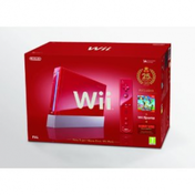 Red Console System Includes Wiimote Plus + New Super Mario Bros + Digital Donkey Kong Game Wii