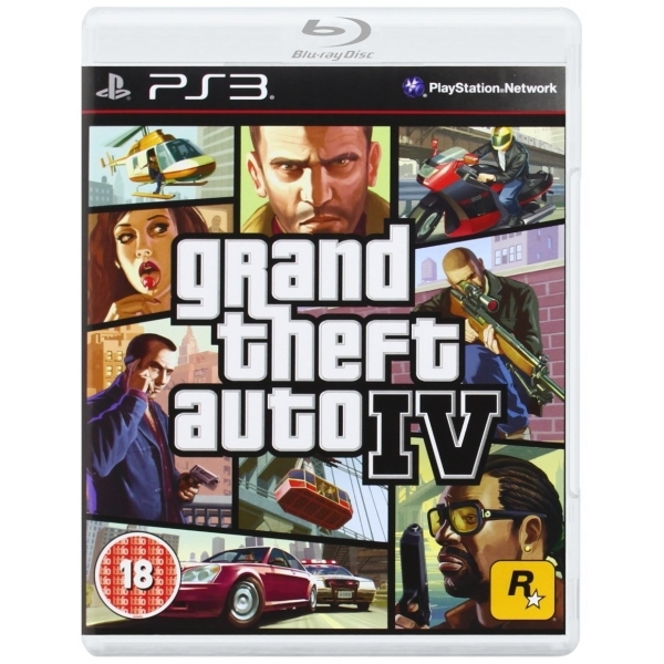 Grand Theft Auto IV 4 GTA Game PS3