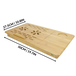 Bamboo Folding Laptop Stand | M&W - Image 4