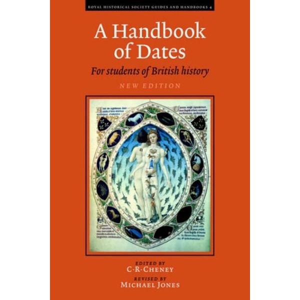 A Handbook of Dates: For Students of British History by Cambridge University Press (Paperback, 2000)