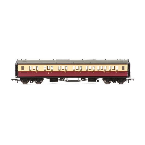 Hornby BR Collett 'Bow-Ended' Corridor Composite (Right Hand) W6145W Era 4 Model Train