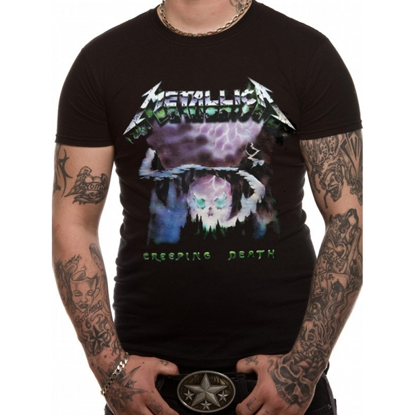 Metallica - Creeping Death Men's XX-Large T-Shirt - Black