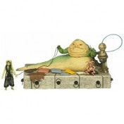 Star Wars Jabba's Throne with Oola and Salacious Crumb Action Figure Playset