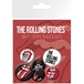 The Rolling Stones  Lips Badge Pack - Image 3