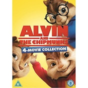 Alvin And The Chipmunks 1-4 DVD