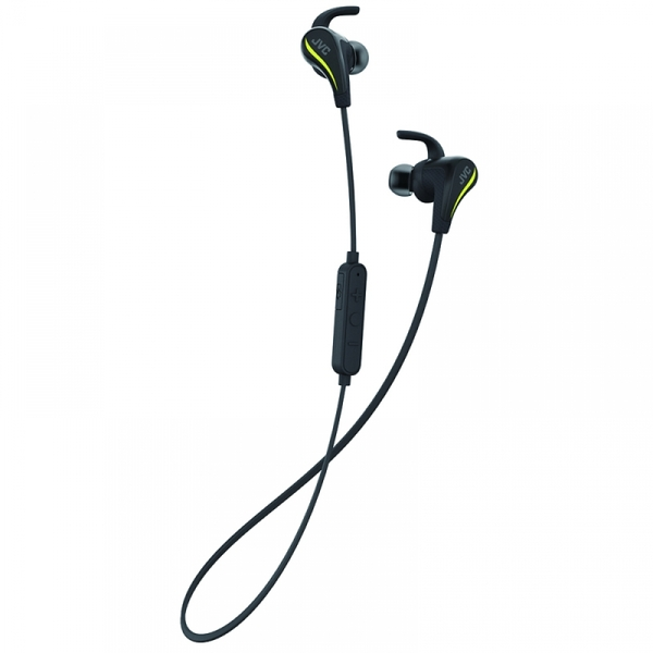 JVC HAET50BTB AE Wireless Bluetooth Sports Headphones with Pivot Motion Fit Black - Image 1