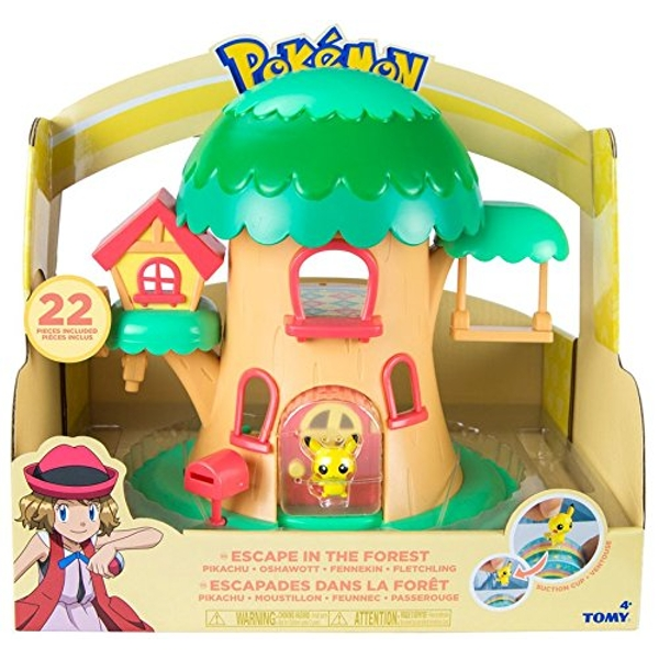 Pokemon Pika-Poke Petite Pals Escape In The Forest Fairy Tree Playset
