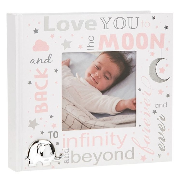 Love You To The Moon Baby Girl Album 4x6