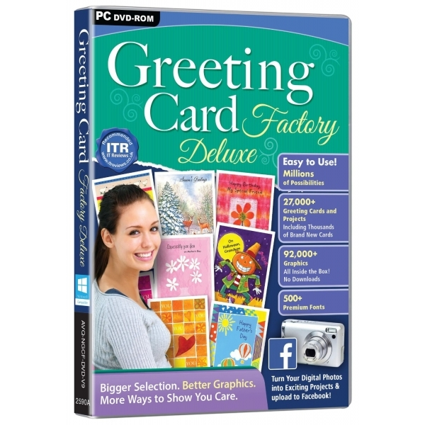 Greeting Card Factory Deluxe V9 PC