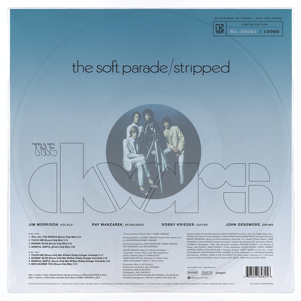 The Doors - The Soft Parade / Stripped Vinyl