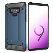 CASEFLEX SAMSUNG GALAXY NOTE 9 ARMOURED SHOCKPROOF CARBON CASE - BLUE