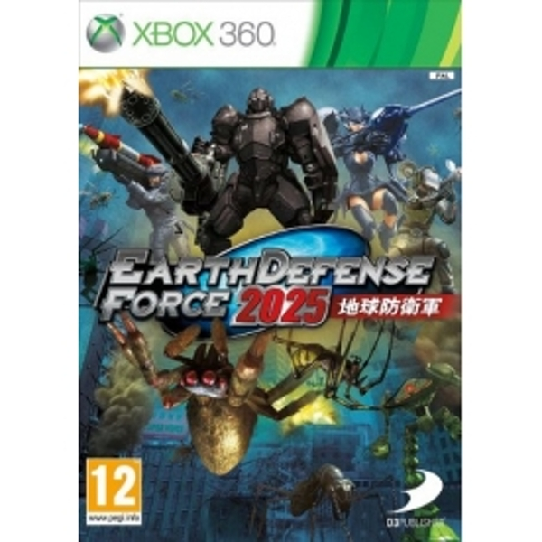 Earth Defence Force 2025 Game Xbox 360