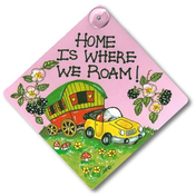 Home Is Where We Roam Sign