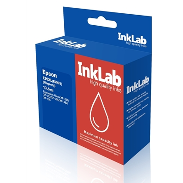 InkLab 29 XL Epson Compatible Magenta Replacment Ink