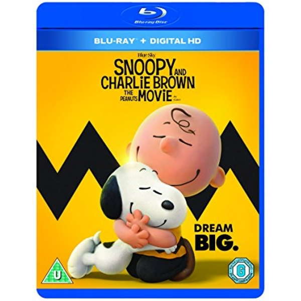 Snoopy And Charlie Brown The Peanuts Movie Blu-ray