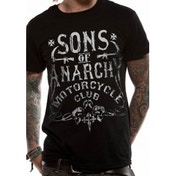 Sons Of Anarchy Motorcycle Club T-Shirt Small - Black
