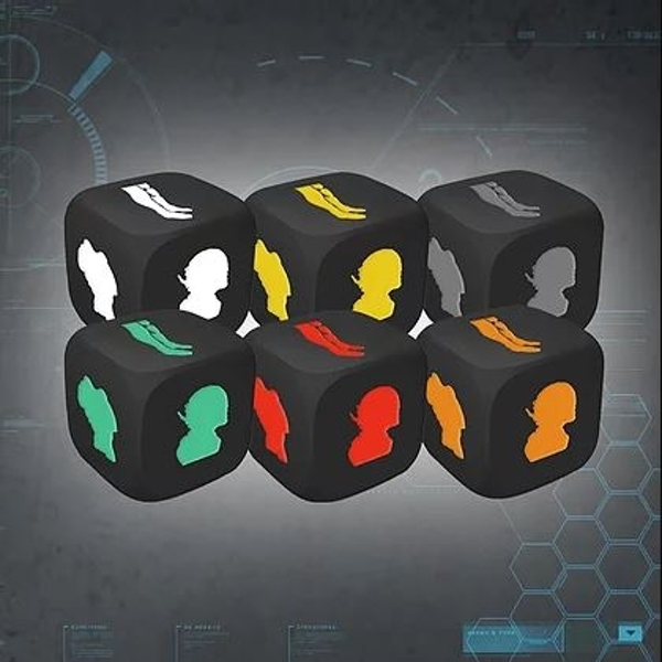 Endure the Stars 1.5 Colour Match Character Injury Dice