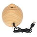 Tulip Round Wood Grain USB Powered Aroma Diffuser 150ml - Image 2