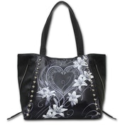 Pure of Heart Pu Leather Studded Tote Bag