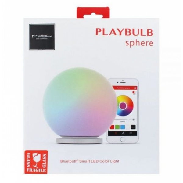 MIPOW PLAYBULB Sphere Bluetooth smart LED lamp (White) - Image 2