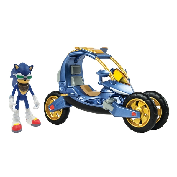 Sonic Boom Blue Force One Transforming Bike
