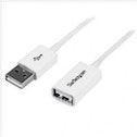 StarTech 2m White USB 2.0 Extension Cable A to A - M/F