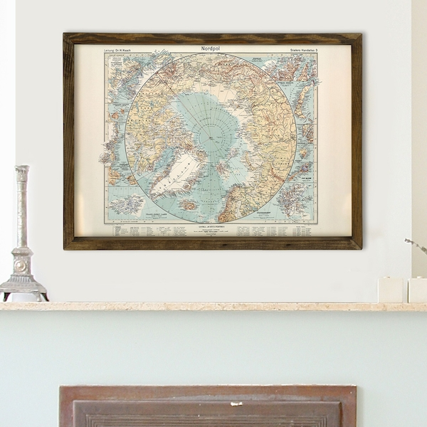 Map028 Multicolor Decorative Framed MDF Painting