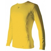 PT Base-Layer Long Sleeve Crew-Neck Shirt X.Large Yellow