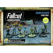 Fallout: Wasteland Warfare - Survivors Core Box Board Game
