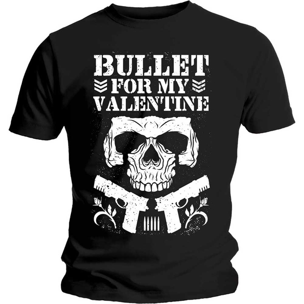 Bullet For My Valentine - Bullet Club Unisex Large T-Shirt - Black