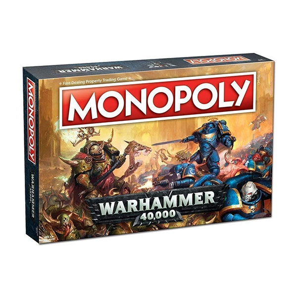 Image of Monopoly Board Game - Warhammer Edition