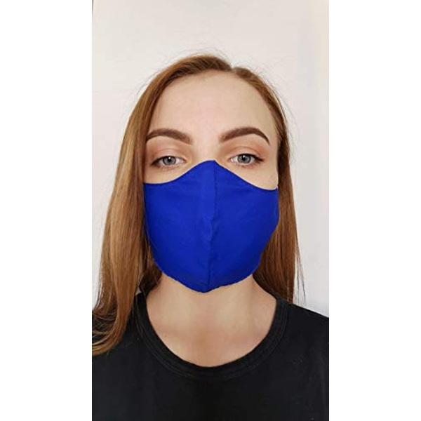 Face Mask/Covering (Single) Adult Royal