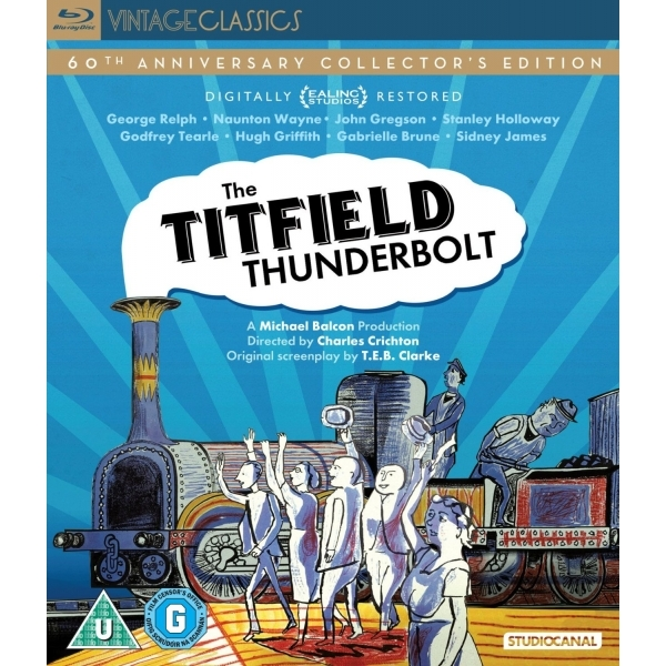 The Titfield Thunderbolt 60th Anniversary Edition Blu-ray