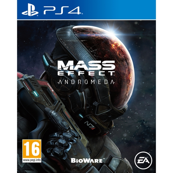 Mass Effect Andromeda PS4 Game [Used]