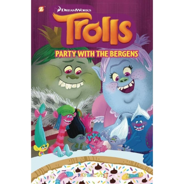 "Trolls Graphic Novels #3 ""Party with the Bergens""  Hardcover"